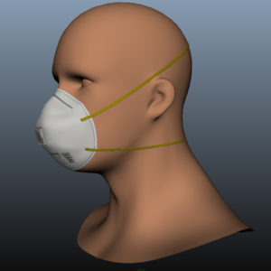 n95-respirator-face-mask-pbr-3d model-6