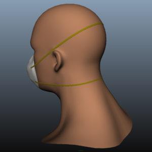 n95-respirator-face-mask-pbr-3d model-7