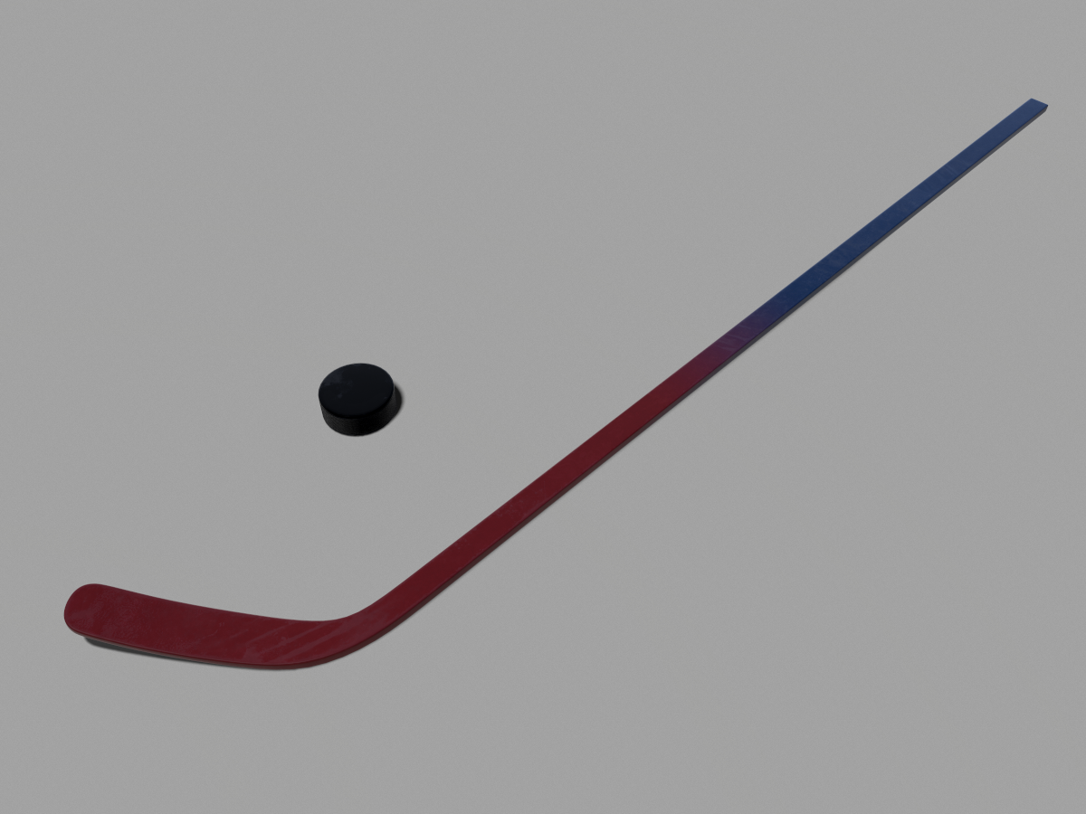 hockey-stick-puck-pbr-3d-model-physically-based-rendering-0