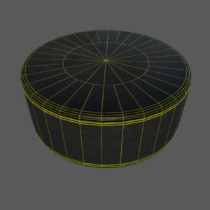 hockey-stick-puck-pbr-3d-model-physically-based-rendering-wireframe-3