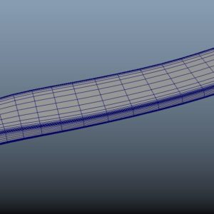 hockey-stick-puck-pbr-3d-model-physically-based-rendering-wireframe-7