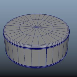 hockey-stick-puck-pbr-3d-model-physically-based-rendering-wireframe-8