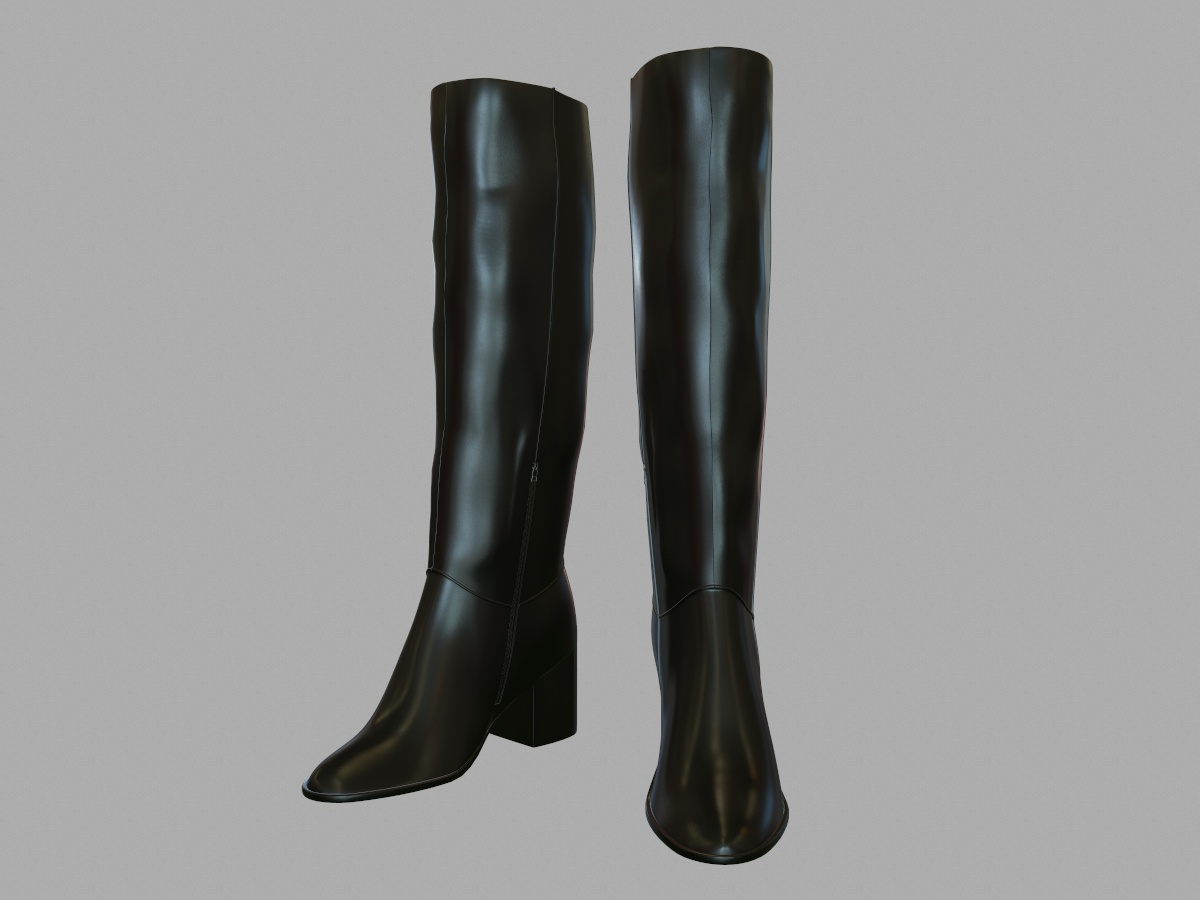 tall-leather-boots-pbr-3d-model-physically-based-rendering-2