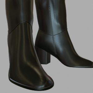 tall-leather-boots-pbr-3d-model-physically-based-rendering-6