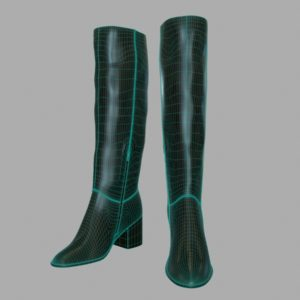 tall-leather-boots-pbr-3d-model-physically-based-rendering-wireframe-2