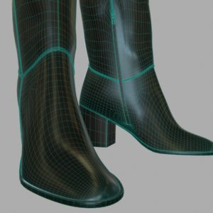 tall-leather-boots-pbr-3d-model-physically-based-rendering-wireframe-6