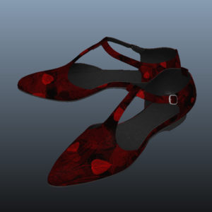 ankle-strap-flats-red-pbr-3d-model-physically-based-rendering-8