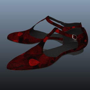 ankle-strap-flats-red-pbr-3d-model-physically-based-rendering-9