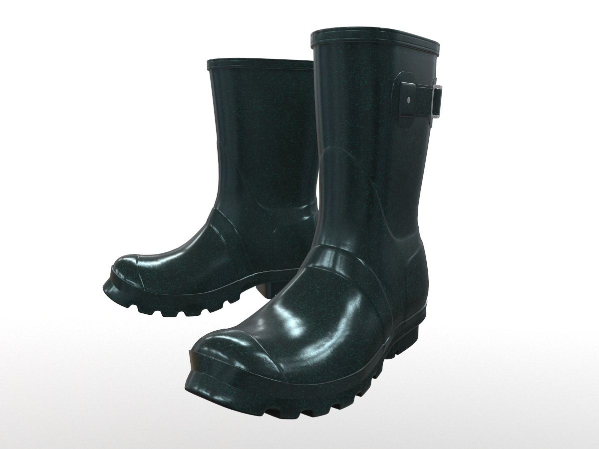 mid-calf-rain-boots-green-pbr-3d-model-physically-based-rendering-1