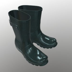 mid-calf-rain-boots-green-pbr-3d-model-physically-based-rendering-5