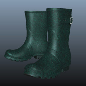 mid-calf-rain-boots-green-pbr-3d-model-physically-based-rendering-7