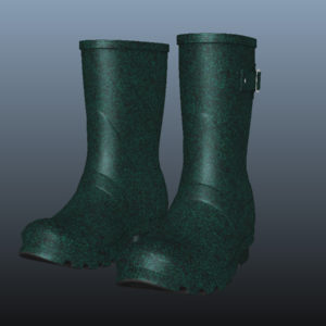mid-calf-rain-boots-green-pbr-3d-model-physically-based-rendering-9