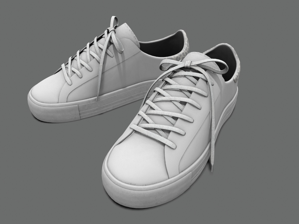 sneakers-white-pbr-3d-model-physically-based-rendering-1