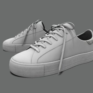sneakers-white-pbr-3d-model-physically-based-rendering-2
