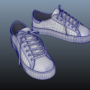 sneakers-white-pbr-3d-model-physically-based-rendering-wireframe-10