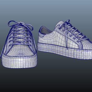 sneakers-white-pbr-3d-model-physically-based-rendering-wireframe-12