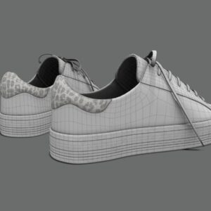 sneakers-white-pbr-3d-model-physically-based-rendering-wireframe-3