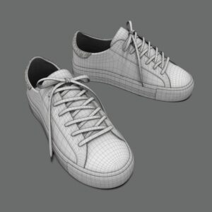 sneakers-white-pbr-3d-model-physically-based-rendering-wireframe-4