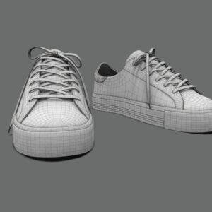 sneakers-white-pbr-3d-model-physically-based-rendering-wireframe-6