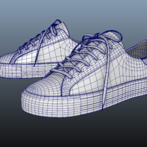 sneakers-white-pbr-3d-model-physically-based-rendering-wireframe-8