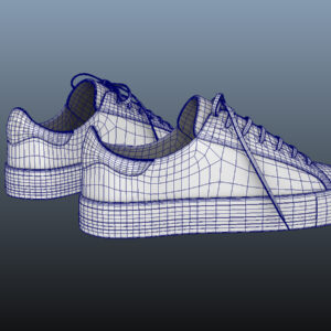 sneakers-white-pbr-3d-model-physically-based-rendering-wireframe-9