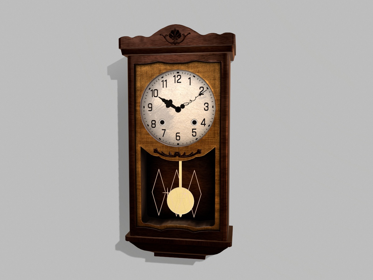 antique-pendulum-wall-clock-pbr-3d-model-physically-based-rendering-1