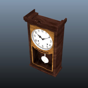 antique-pendulum-wall-clock-pbr-3d-model-physically-based-rendering-11