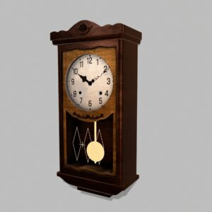 antique-pendulum-wall-clock-pbr-3d-model-physically-based-rendering-2