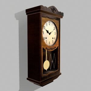 antique-pendulum-wall-clock-pbr-3d-model-physically-based-rendering-3