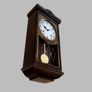 antique-pendulum-wall-clock-pbr-3d-model-physically-based-rendering-5