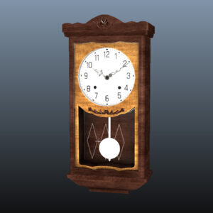 antique-pendulum-wall-clock-pbr-3d-model-physically-based-rendering-8