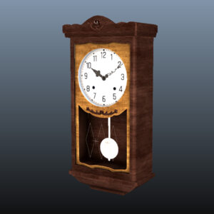 antique-pendulum-wall-clock-pbr-3d-model-physically-based-rendering-9