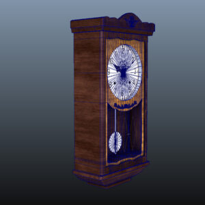antique-pendulum-wall-clock-pbr-3d-model-physically-based-rendering-wireframe-10