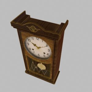 antique-pendulum-wall-clock-pbr-3d-model-physically-based-rendering-wireframe-4