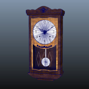 antique-pendulum-wall-clock-pbr-3d-model-physically-based-rendering-wireframe-8