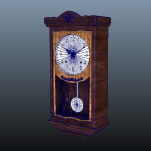 antique-pendulum-wall-clock-pbr-3d-model-physically-based-rendering-wireframe-9
