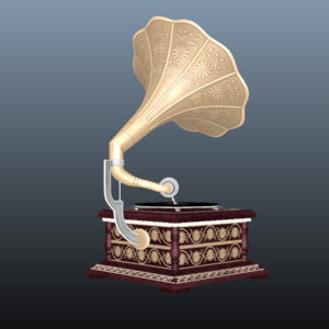 retro-trumpet-horn_record-player-pbr-3d-model-physically-based-rendering-10