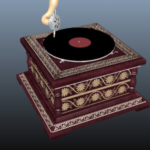 retro-trumpet-horn_record-player-pbr-3d-model-physically-based-rendering-12