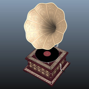 retro-trumpet-horn_record-player-pbr-3d-model-physically-based-rendering-14