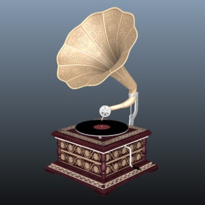 retro-trumpet-horn_record-player-pbr-3d-model-physically-based-rendering-8