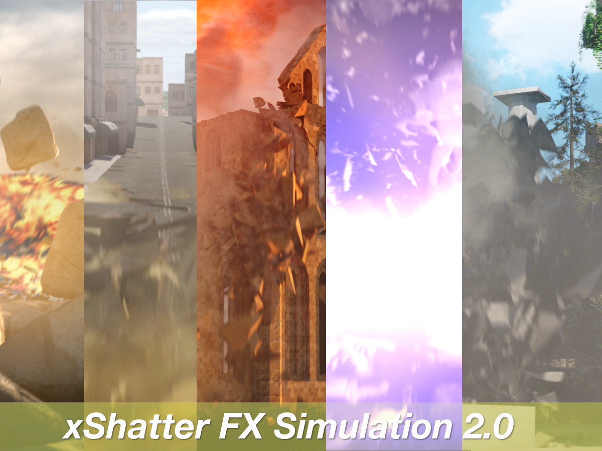 xShatter-FX-Simulation-Maya-Destruction-Dynamics-VFX-Tool-7x