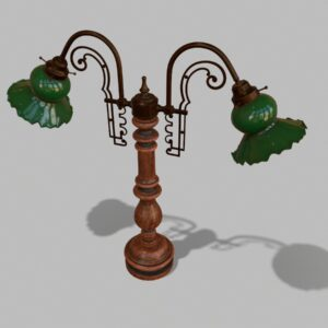 antique-green-glass-table-lamp-pbr-3d-model-physically-based-rendering-2