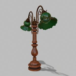 antique-green-glass-table-lamp-pbr-3d-model-physically-based-rendering-3