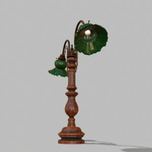 antique-green-glass-table-lamp-pbr-3d-model-physically-based-rendering-5