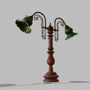 antique-green-glass-table-lamp-pbr-3d-model-physically-based-rendering-6