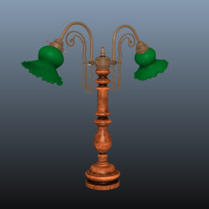 antique-green-glass-table-lamp-pbr-3d-model-physically-based-rendering-8