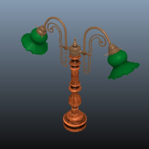 antique-green-glass-table-lamp-pbr-3d-model-physically-based-rendering-9