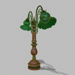 antique-green-glass-table-lamp-pbr-3d-model-physically-based-rendering-wireframe-3