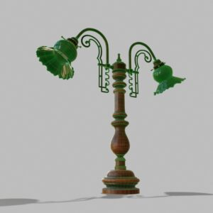antique-green-glass-table-lamp-pbr-3d-model-physically-based-rendering-wireframe-6