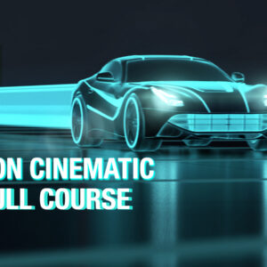 Tron Style Cinematic Rendering And Animation In Maya – Arnold – Course